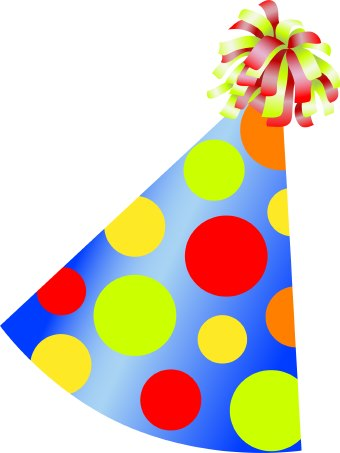 Birthday Party Hat clip art.