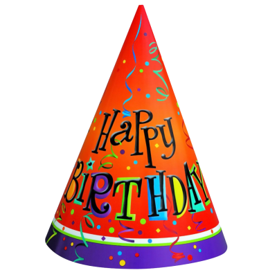 Download BIRTHDAY HAT Free PNG transparent image and clipart.