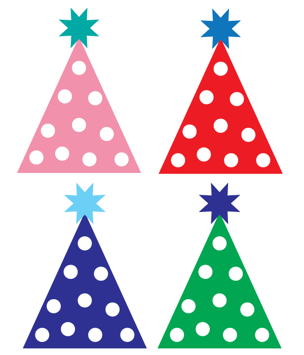 Free party hat clipart.
