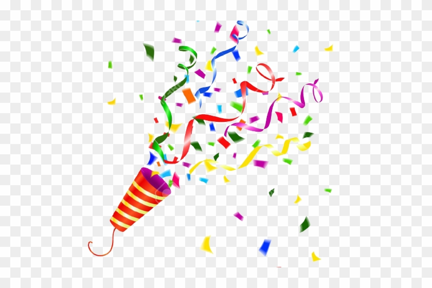 Confetti Clipart Party Horn.