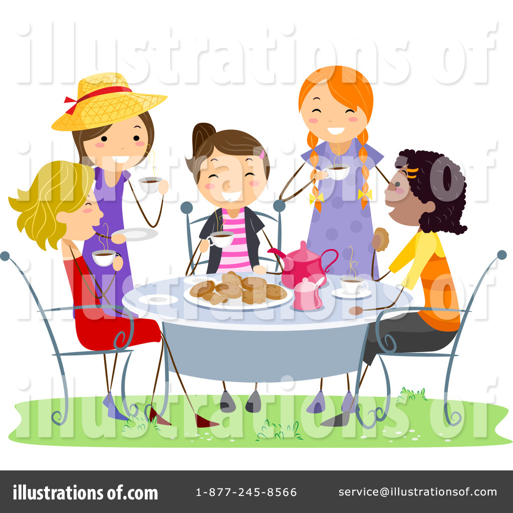 Tea Party Clipart #1064686.