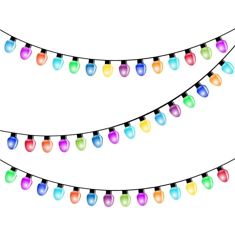 CLIPART PARTY LIGHT BULBS.