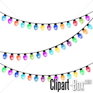 CLIPART PARTY LIGHT BULBS.