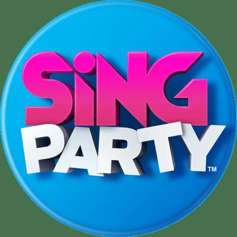 Sing Party Logo transparent PNG.