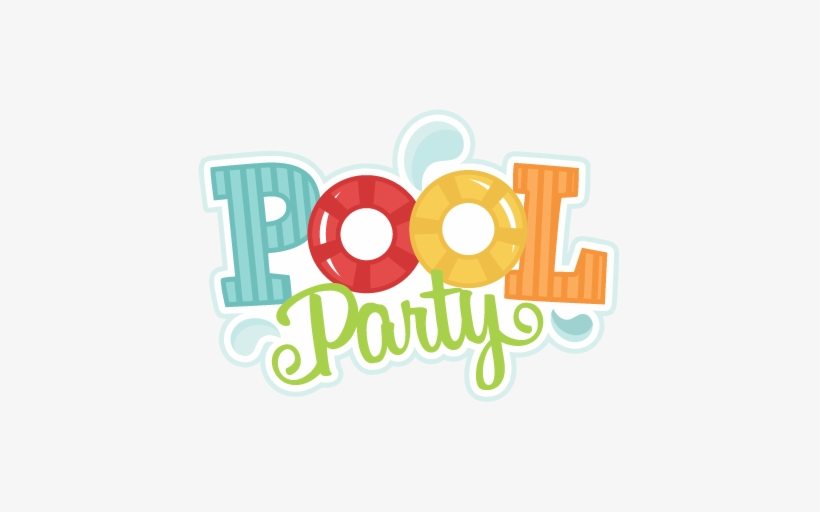Pool Party Logo Png Image.
