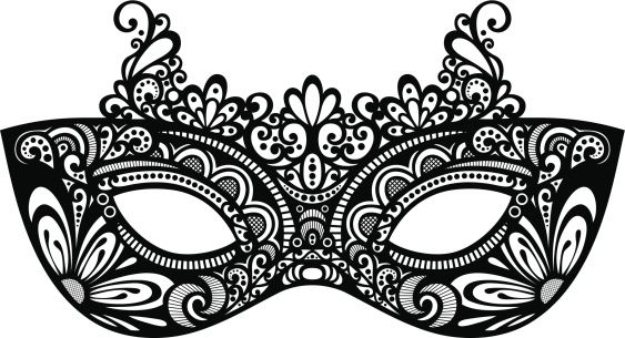 Masquerade Ball Mask Template  ApigramCom