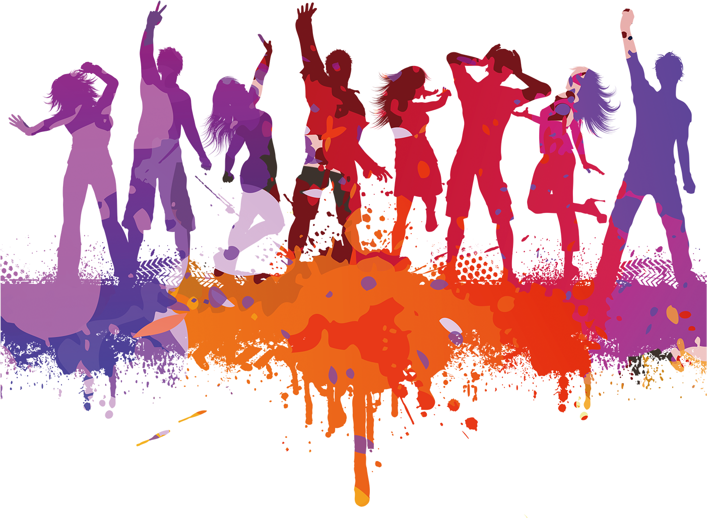 HD Clipart Library Dancing Transparent Party.