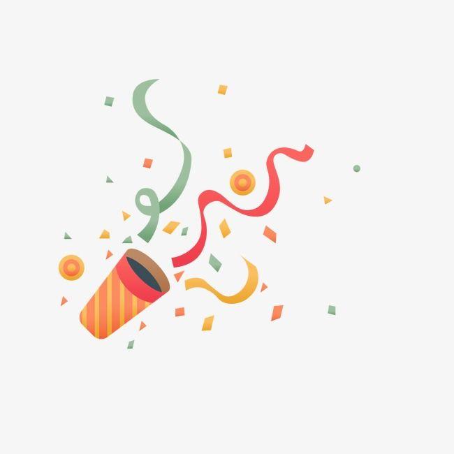 2019 的 Confetti, Party, Party, Happy PNG and Vector with.