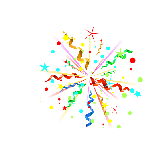 Party popper Clip art Portable Network Graphics Vector.