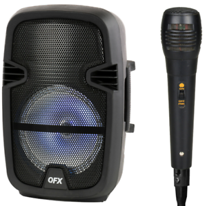 Details about Party Speakers 4400W Bluetooth Dj Equipment Sound System  Karaoke w/ Microphone.