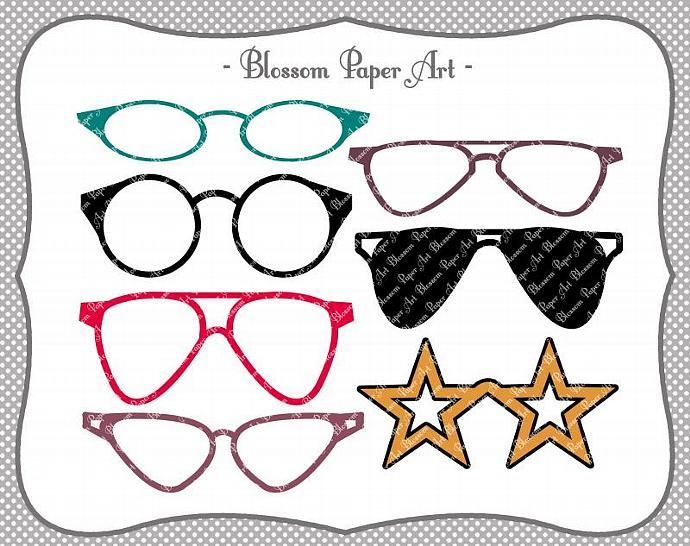 Clipart Glasses.