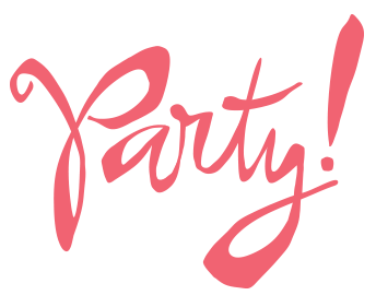 Party text png » PNG Image.