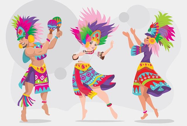 Free photo Fun Colorful Party Deco Streamer Carnival.