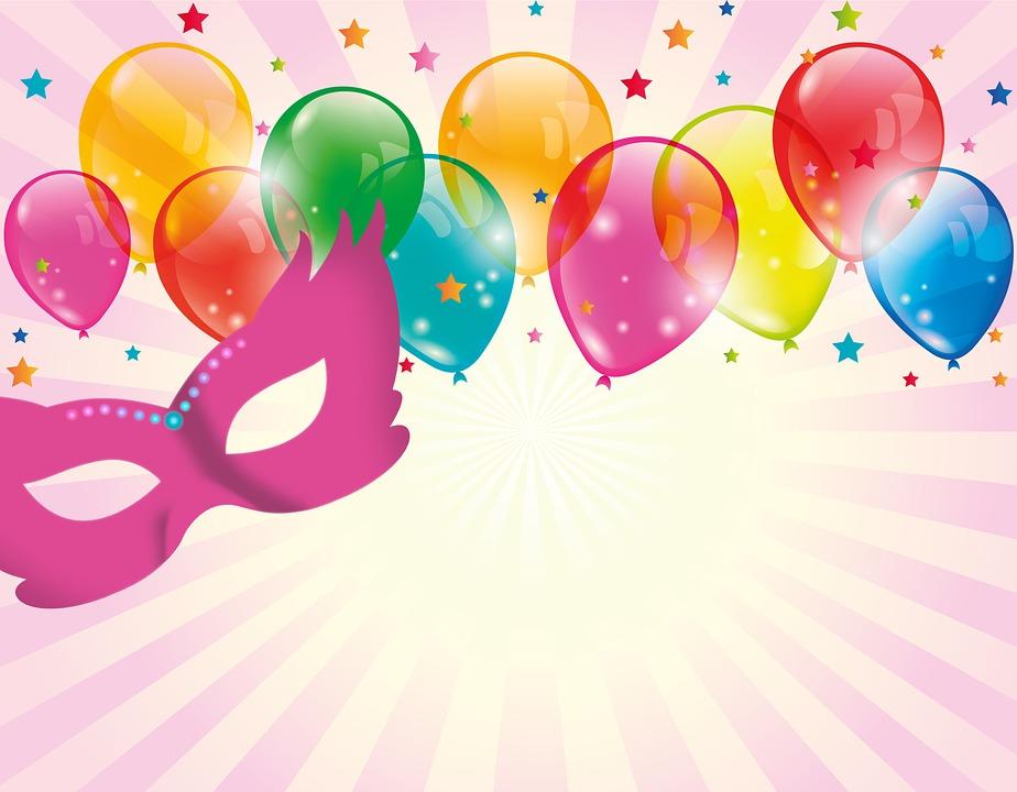 Free illustration: Carnival, Mask, Panel, Balloon.
