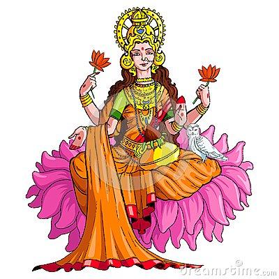 Parvati Stock Illustrations.
