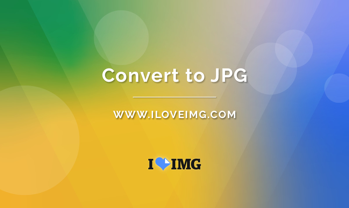 Convert images in multiple formats to JPG in seconds..