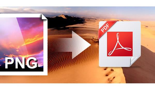 Convertir PNG a PDF en Mac / Windows / Online gratis.