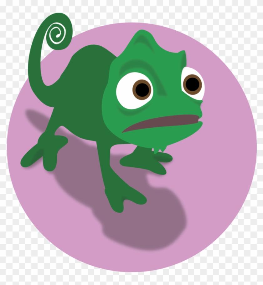Lizard Clipart Disney Tangled.