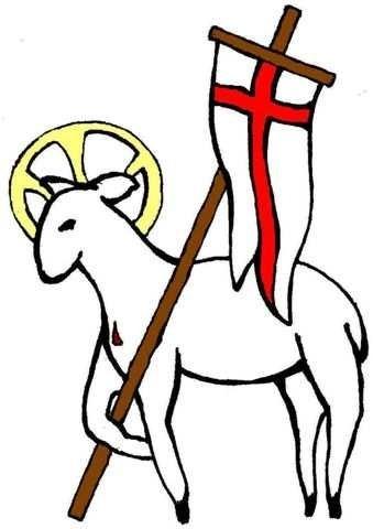 Paschal lamb clipart #19
