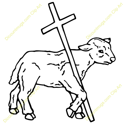 Gallery For > Paschal Lamb Clipart.