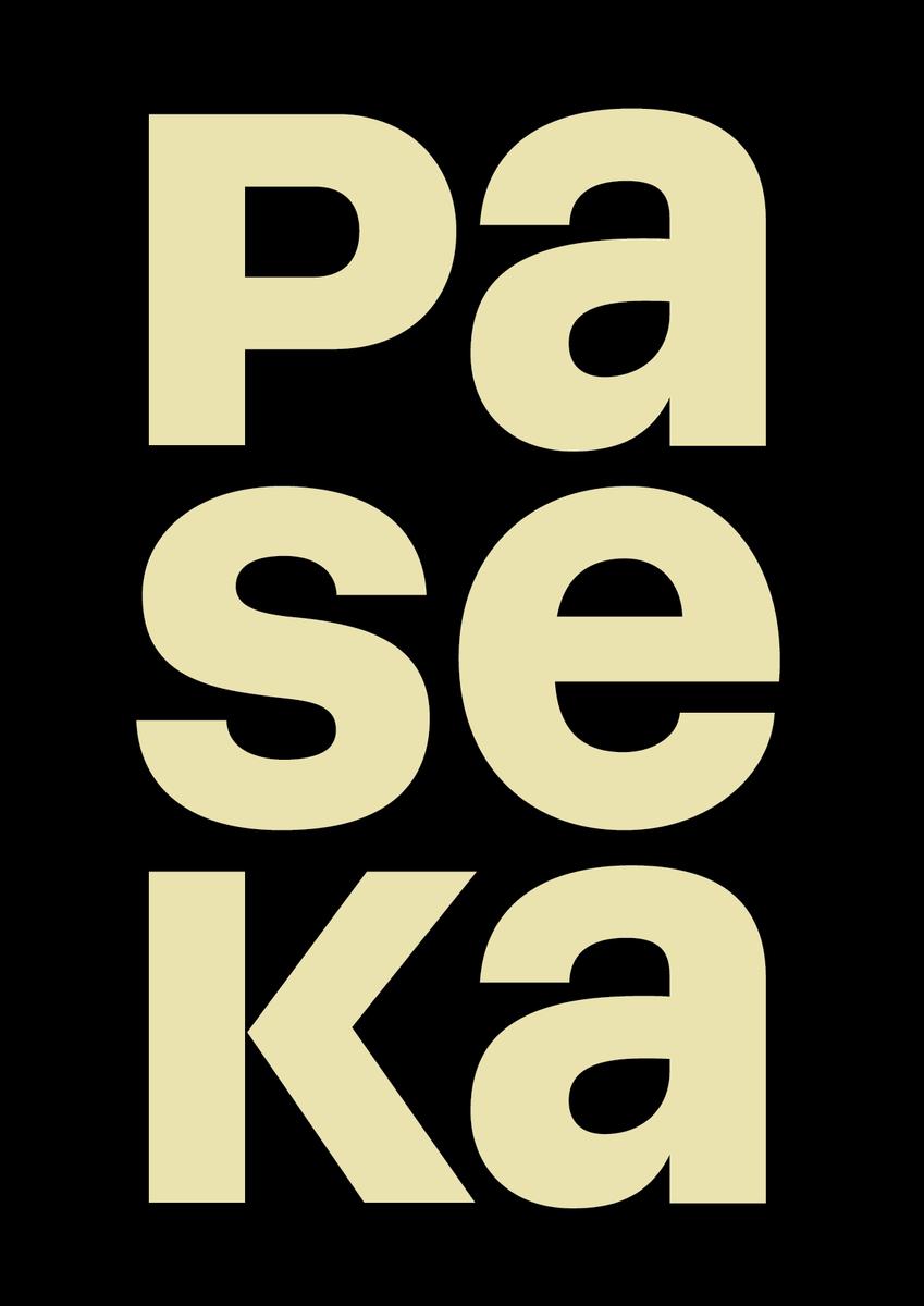 Paseka publishers logo.