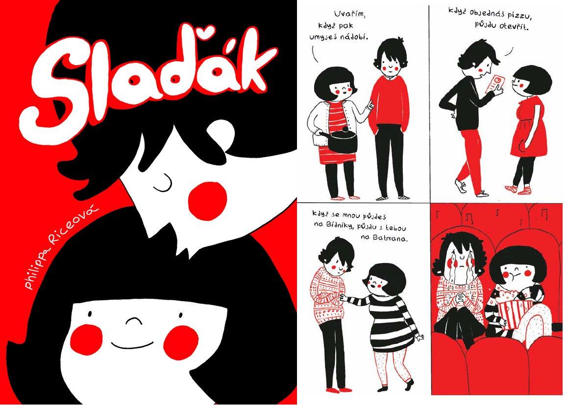 """Paseka on Twitter: """"Na Valentýn vás vybavíme Ilustrovaný Slaďák."""