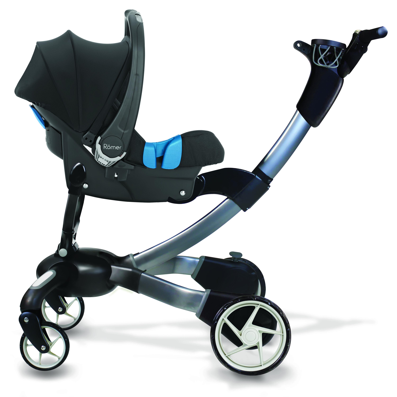 Cochecito de paseo Origami de 4Moms con el portabebés Baby Safe de.