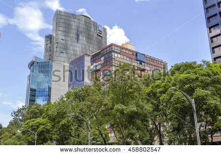 Paseo De La Reforma Stock Photos, Royalty.