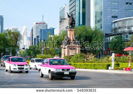 Angel Independence Paseo De La Reforma Stock Photo 549393700.