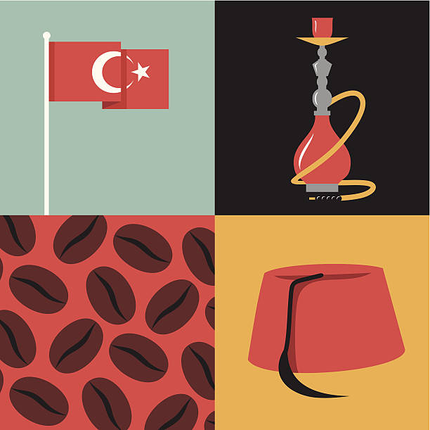 Turkish Pasha Clip Art, Vector Images & Illustrations.