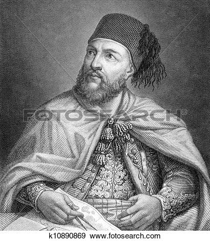 Stock Photograph of Ibrahim Pasha of Egypt k10890869.