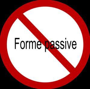 Pas De Forme Passive Clip Art at Clker.com.