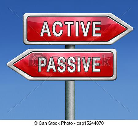 Picture of active or passive activity and passivity time for.
