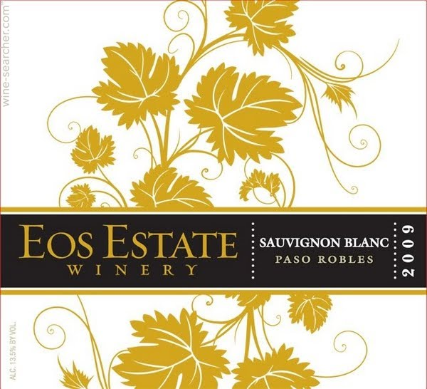 Tasting Notes: EOS Estate Sauvignon Blanc, Paso Robles, USA.