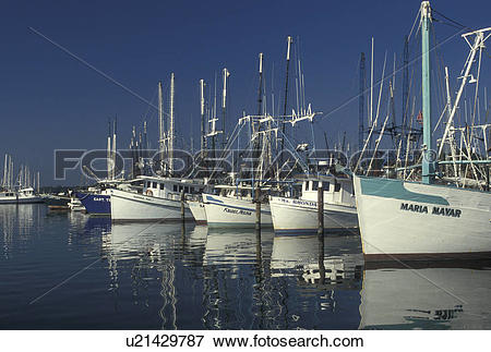 Picture of shrimp boat, Pass Christian, MS, Mississippi, Gulf.