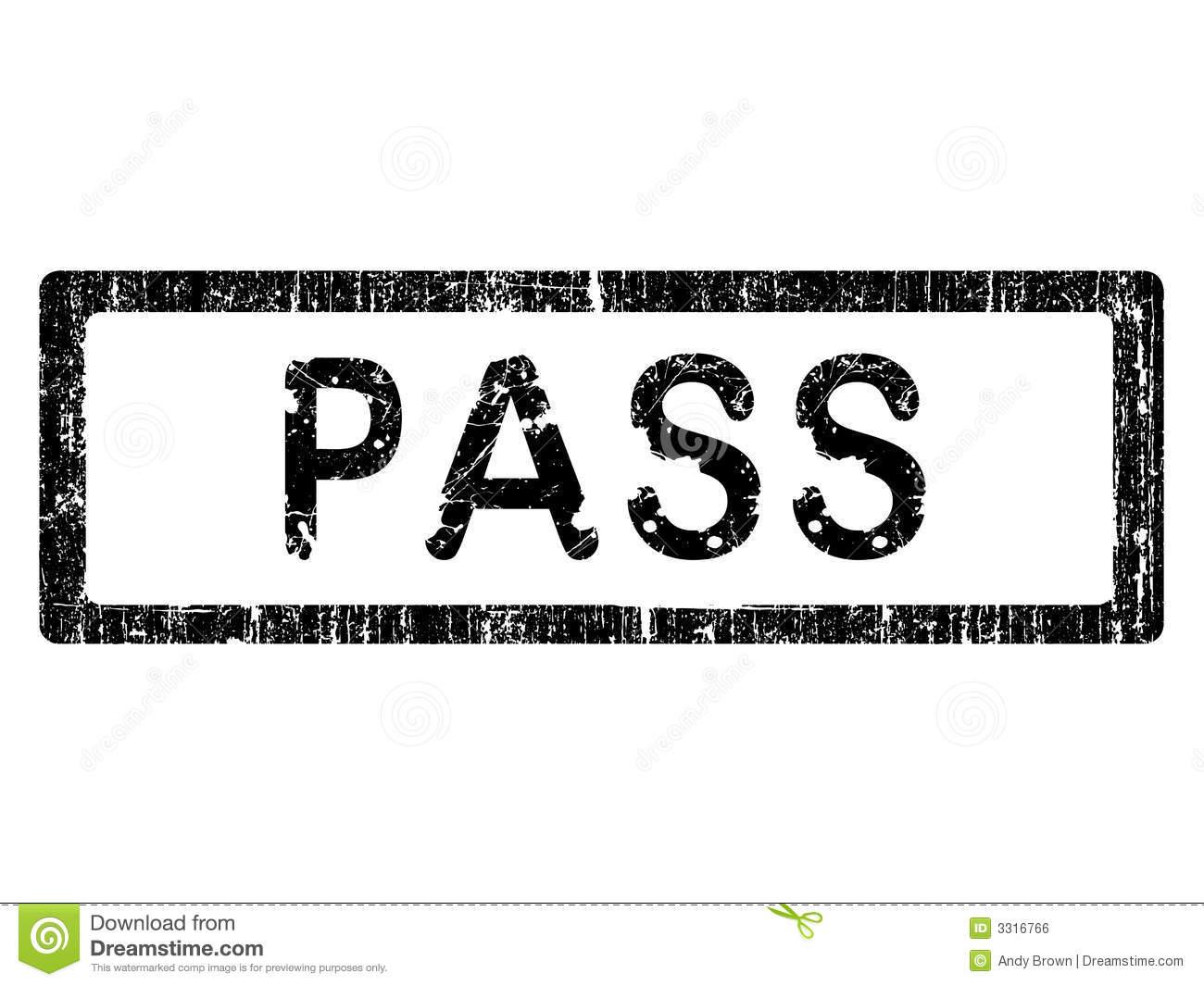 Hall pass clip art.