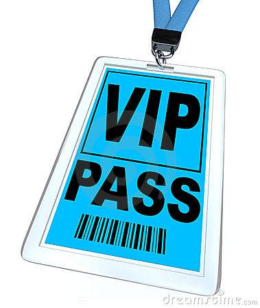 Vip pass clip art.