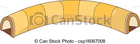 Vector Clipart of A passageway csp16067008.