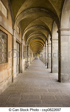 Picture of Arch passageway.