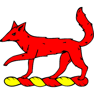 Fox Passant clipart, cliparts of Fox Passant free download (wmf.