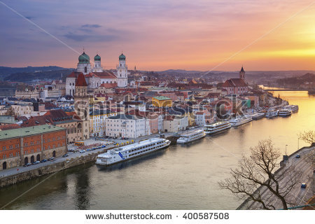 Passau Stock Photos, Royalty.