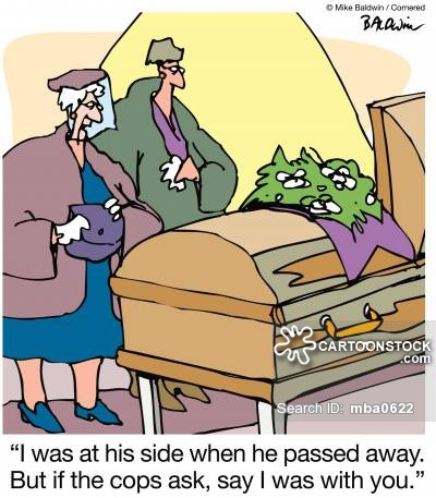Passed Away Cartoons and Comics.