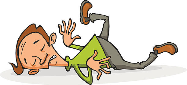 Passed Out Drunk Guy Cartoon Clip Art, Vector Images.