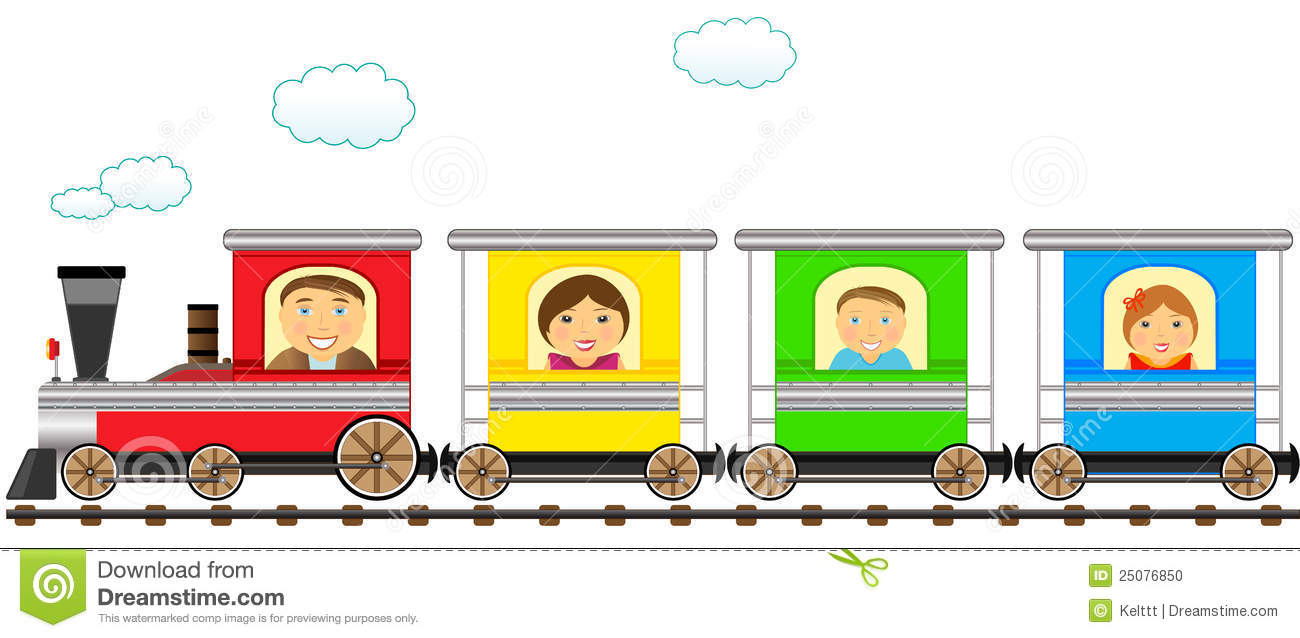 Wagon de train clipart.