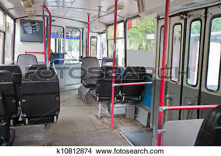 Stock Photo of passenger compartment k10812874.