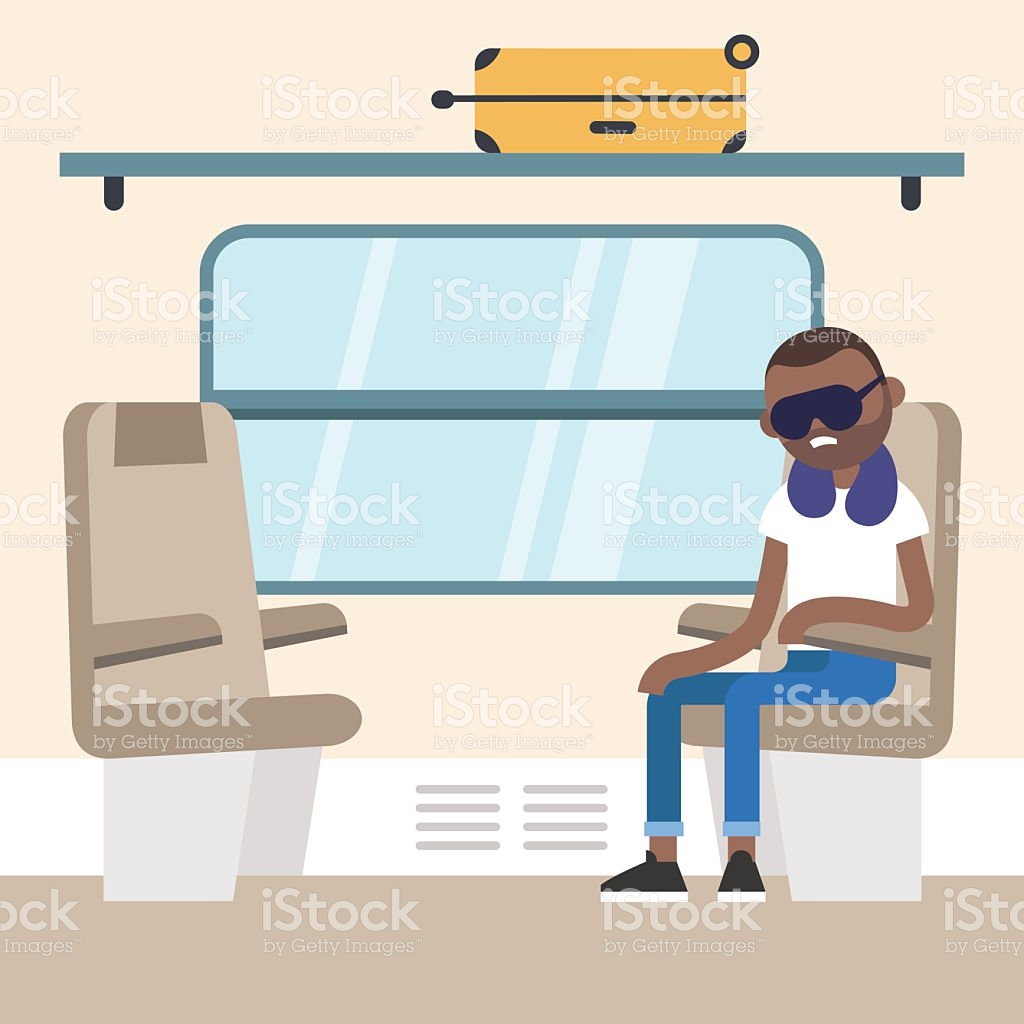 Train Compartment Clipart.