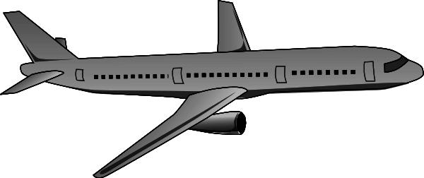 Passenger jet clipart #16