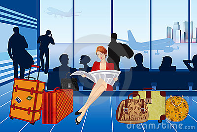 Passenger Lounge Clipart