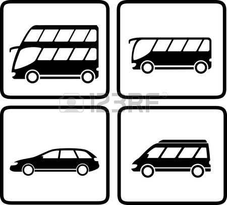 12,004 Passenger Bus Cliparts, Stock Vector And Royalty Free.