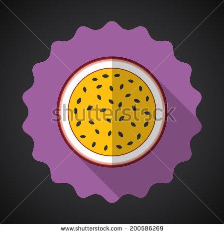 Passiflora Edulis Stock Vectors & Vector Clip Art.